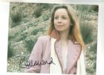 "Lalla Ward ""Romana"" (Doctor Who)  Smudge on autograph"